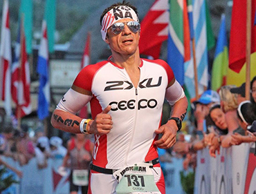 Guido pasqualini con lorenzo bergami nutrizionista ironman strategic nutrition center italia